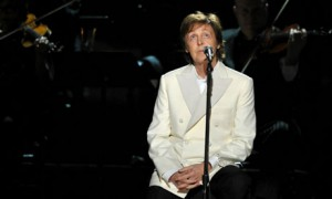 Paul McCartney at the Grammys